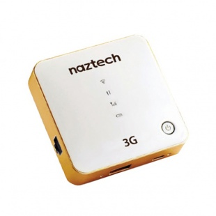 Naztech NZT-7730 3G Mobile WiFi Router and Powerbank