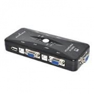 P-net 4-Port 104UK KVM Switch