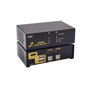 سوییچ KVM دو پورت کی نت پلاس مدل Auto HDMI