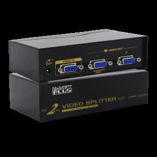 اسپلیتر VGA دو پورت کی نت پلاس 450 مگاهرتز