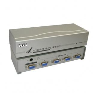 اسپلیتر VGA چهار پورت کی نت پلاس 250 مگاهرتز