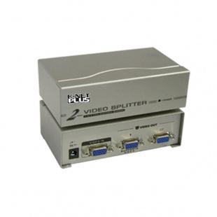 اسپلیتر VGA دو پورت کی نت پلاس 250 مگاهرتز