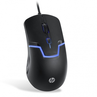 ماوس با سیم اچ پی مدل ام 100 HP M100 wired usb mouse