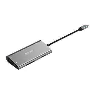 مبدل USB-C به HDMI/USB/LAN اوریکو مدل CLH-W2