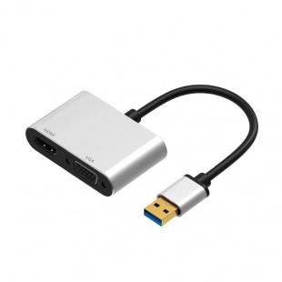 تبدیل USB 3.0 به VGA و HِDMI