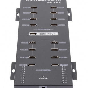اسپلیتر 1 به 16 HDMI لنکنگ مدل LKV316A باکیفیت  4K و 2K