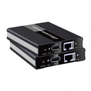 توسعه دهنده کی وی ام HDMI لنکنگ مدل LKV371KVM روی کابل شبکه تا ۶۰ متر