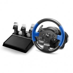 دسته فرمان و پدال بازی تراست مستر مدل T150 PRO Force Feedback برای PC و پلی استیشن
