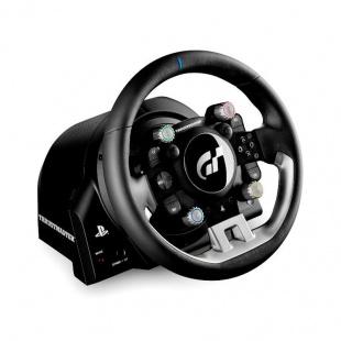 دسته فرمان و پدال بازی تراست مستر مدل T-GT برای PC و پلی استیشن