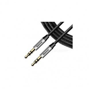 کابل انتقال صدا 3.5 میلی متری باسئوس مدل Yiven M30 به طول 0.5 متر