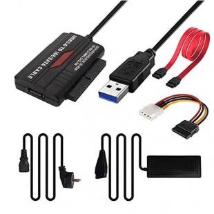 تبدیل USB 3.0 به SATA / IDE مدل RXD-338U3