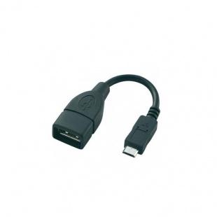 کابل تبدیل USB2.0 AF به Micro OTG بافو 10 سانتی متر