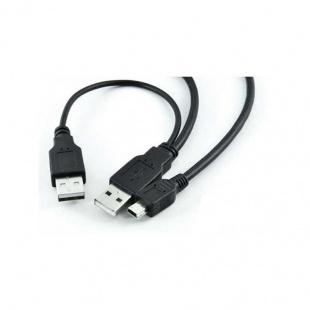 کابل تبدیل USB2.0 AF + AM به Micro OTG بافو 10 سانتی متر