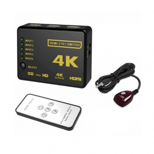 سوییچ 5 پورت HDMI مدل UH-501