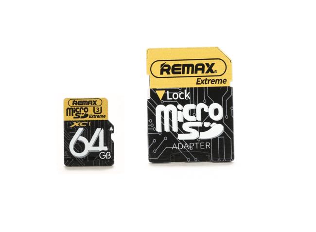 کارت حافظه ریمکس MICRO SD U3 64GB