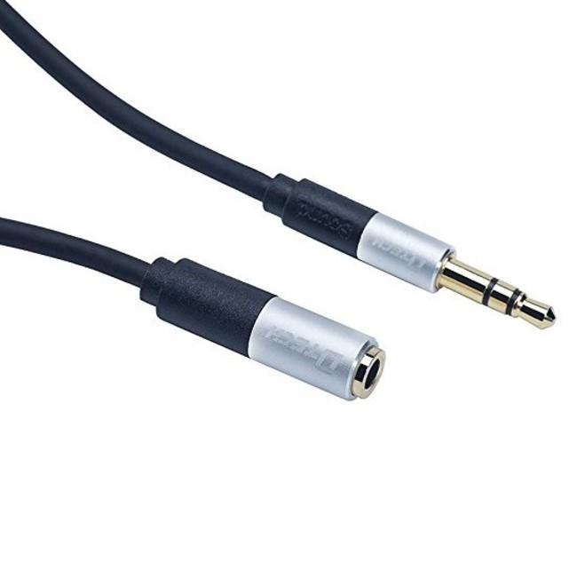 کابل افزایش صدای 3 متری AUX دیتک مدل Dtech DT-T0219