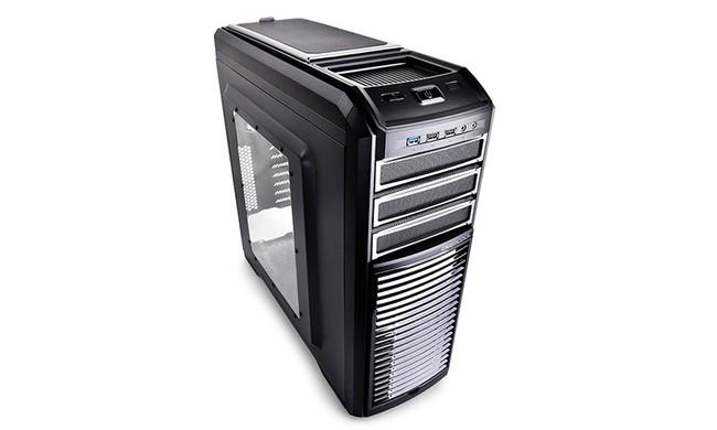 کيس کامپيوتر ديپ کول مدل KENDOMEN TITANIUM