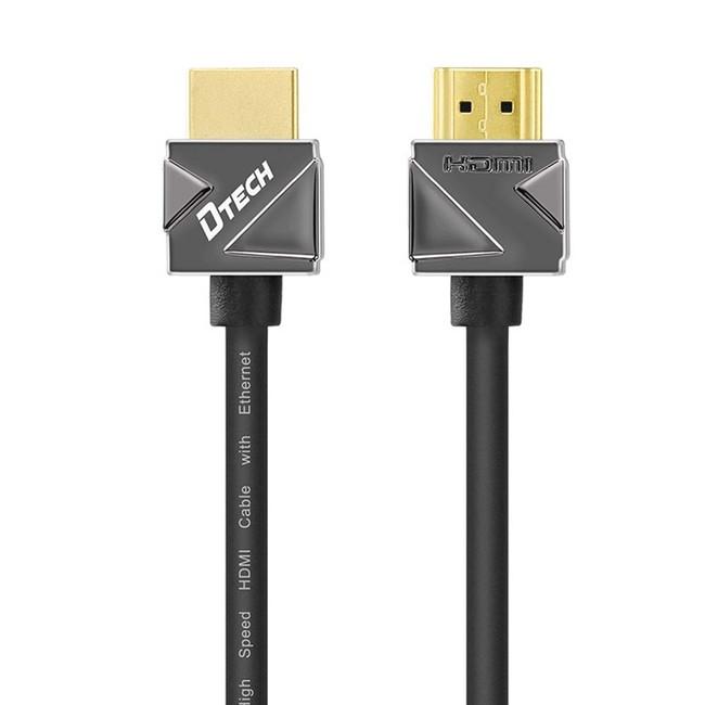 کابل HDMI اسلیم دیتک مدل DT-H201 ورژن 2 طول 0.5 متر