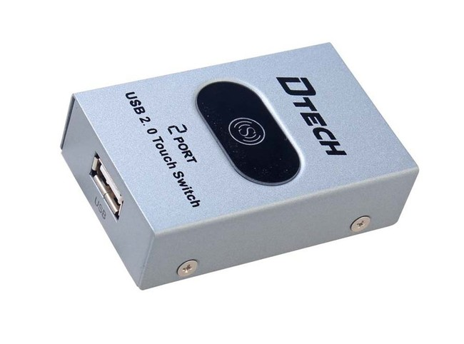 دیتا سوئیچ پرینتر 2 پورت USB دیتک مدل DT-8321