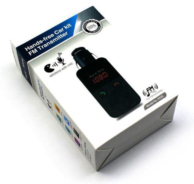 Hands Free Car Kit Fm Transmitter 301E