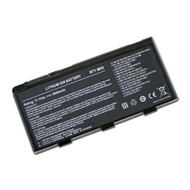 MSI M6D 9Cell Laptop Battery