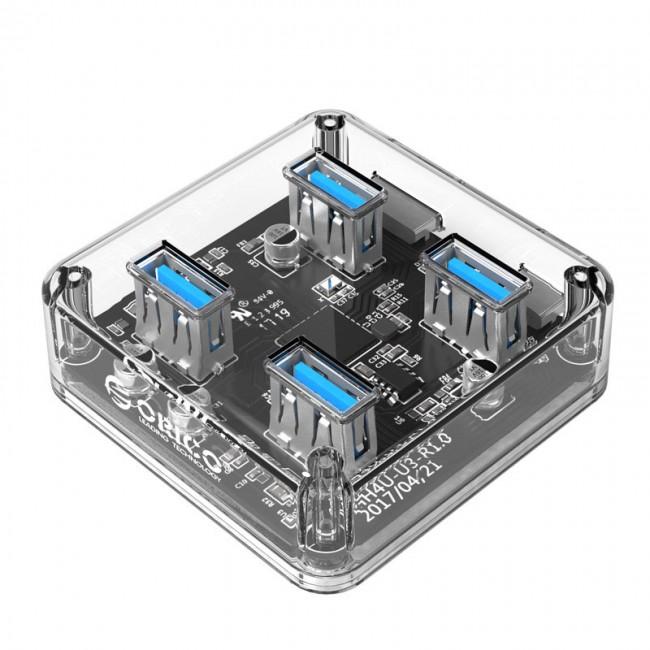 هاب USB 3.0 چهار پورت اوریکو مدل MH4U-U3-10