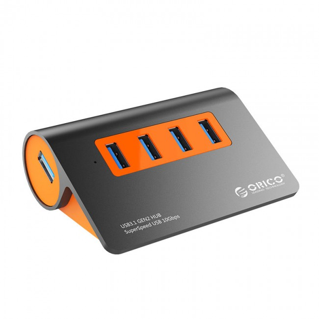 هاب 4 پورت USB3.1 Gen2 اوریکو مدل M3H4-G2