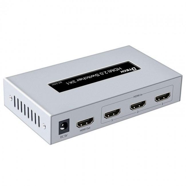 سوئیچ HDMI چند تصویر 1 به 3 دیتک مدل DT-7431