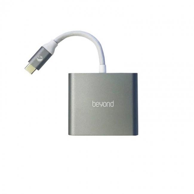 تبدیل Type-c به HDMI و USB 3.0 و Type-c بیاند مدل BA-410