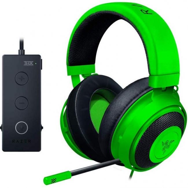 هدست گیمینگ ریزر مدل Kraken Tournament Edition با صدای سه بعدی مخصوص PS4 و PS3 و PC و Xbox