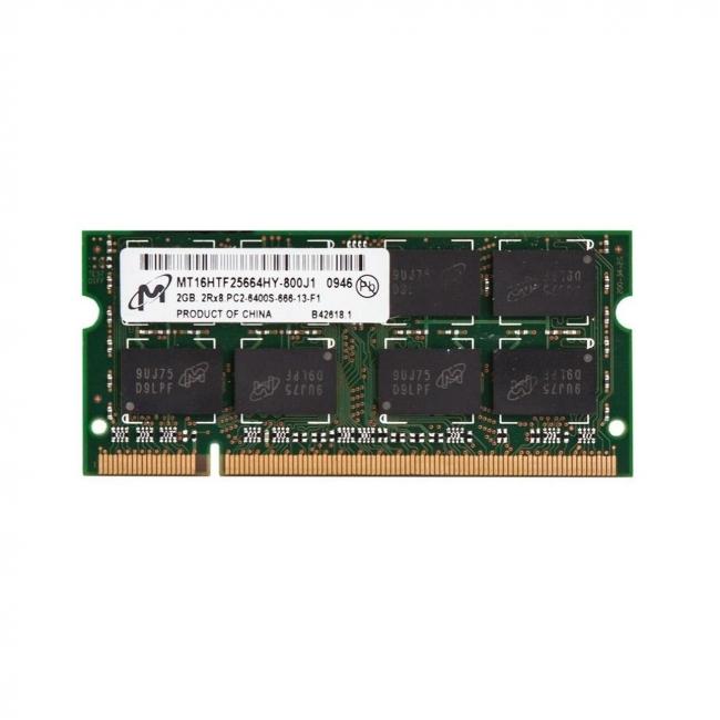 رم لپ تاپ میکرون ۲ گیگابایت با فرکانس ۸۰۰ مگاهرتز