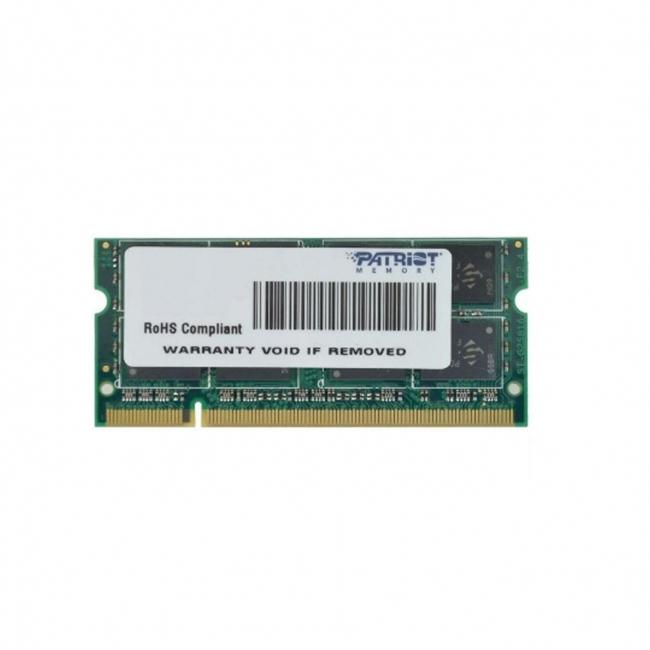 رم لپ تاپ پتریوت ۴ گیگابایت با فرکانس ۸۰۰ مگاهرتز