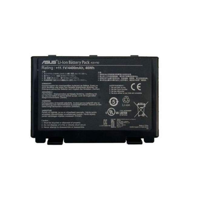 باتری لپ تاپ ایسوس مدل A۳۲-F۸۲