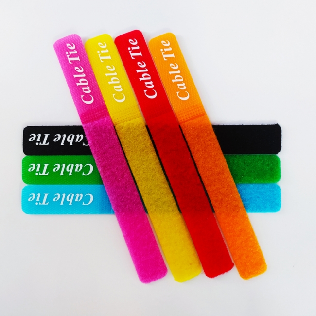 چسپ نگه داره کابل بسته 7 عددی رنگی مدل Tie