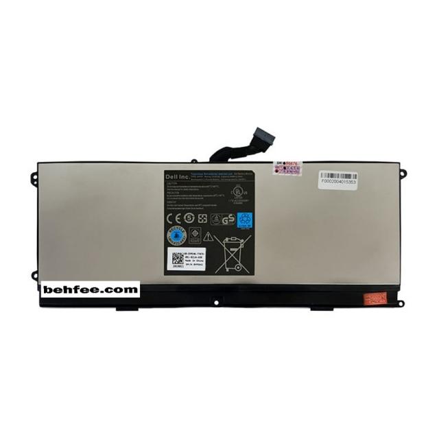 باطری لپ تاپ دل مدل XPS 15Z-0HTR7 روکش فلزی داخلی-اورجینال