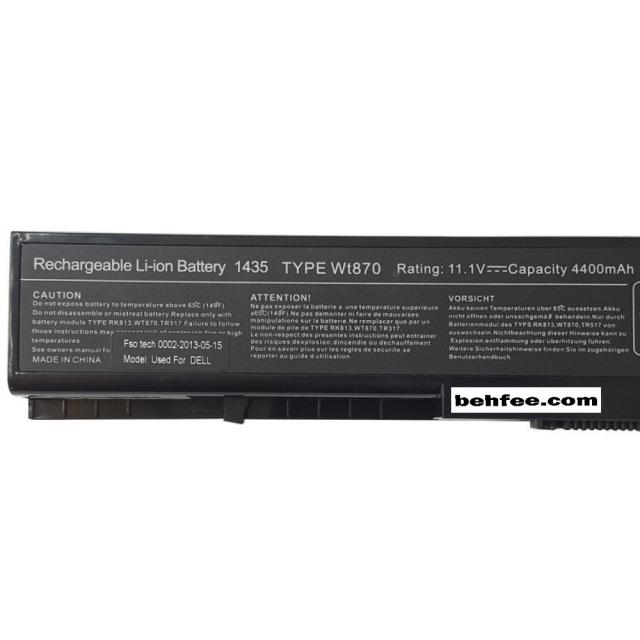 باطری لپ تاپ دل مدل Studio 1435-6Cell
