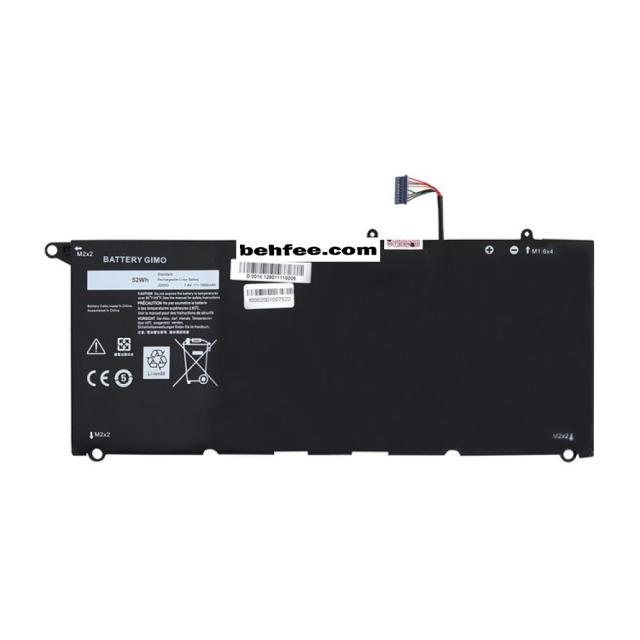 باطری لپ تاپ دل  مدل XPS 13-9350_JD25G مشکی-داخلی