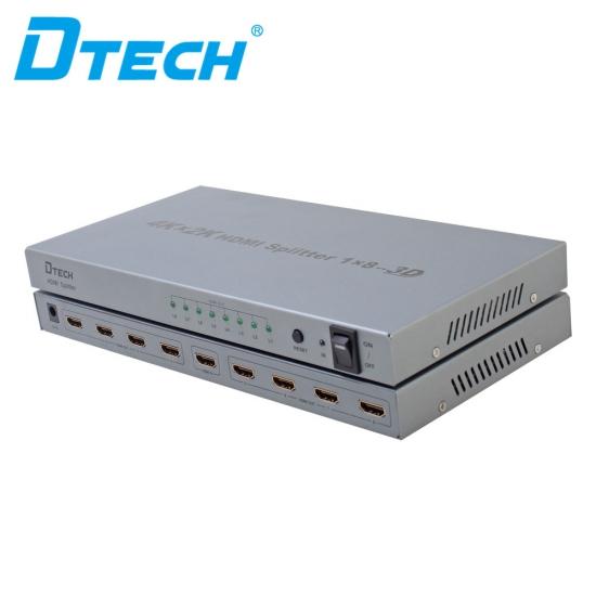 اسپلیتر 1به 8 دیتک مدل DTECH DT-7148
