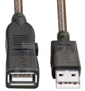 کابل افزایش طول usb دیتک 3 متر Dtech Dt-5203 Usb 2.0 Cable De Extension 3 Metros