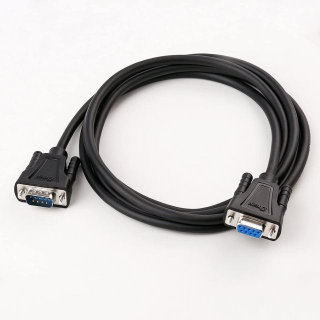 کابل  سریال RS232 دیتک مدل DT-9005B DTECH 1.5ft COM Port Serial Cable Male to Female RS232 Extension