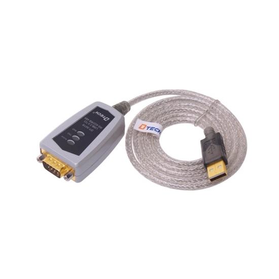 تبدیل usb به سریال RS422/RS485 برند دیتک DTECH DT-5019 USB TO RS485/422 Cable
