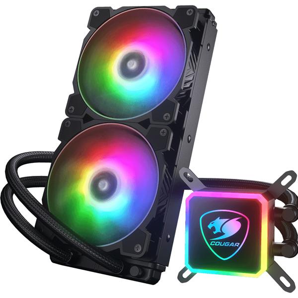 سیستم خنک کننده کوگار   COUGAR AQUA360 ARGB CPU Cooler