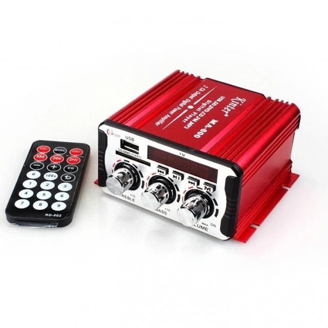 مینی آمپلی فایر دو کاناله کینتر مدل 2Channel Mini Amplifier MA-600
