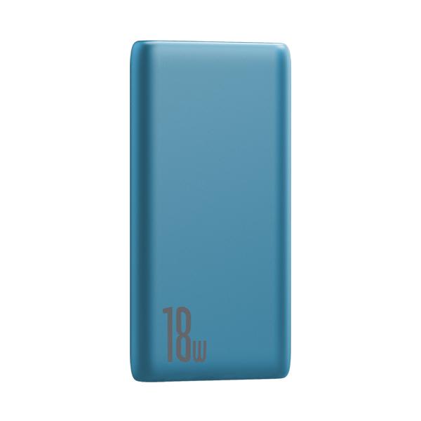 پاور بانک باسئوس Baseus Bipow Quick Charge Power Bank PD+QC 10000mAh 18W Blue