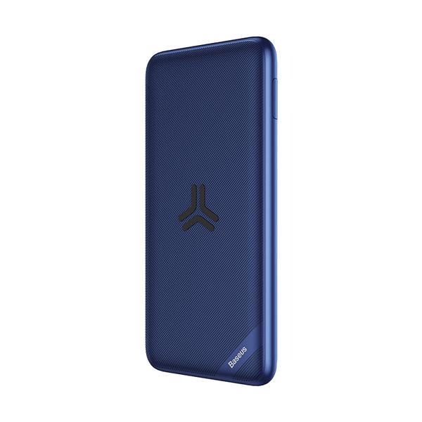 پاور بانک بی سیم باسئوس    Baseus S10 Bracket 10W Wireless Charger Power bank 10000mAh 18W Blue