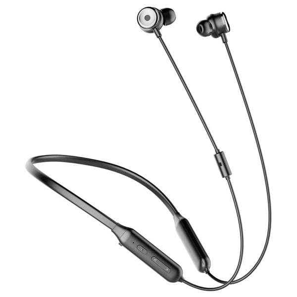 هدفون بی سیم باسئوس Baseus SIMU Active Noise Reduction Wireless earphone S15 Black
