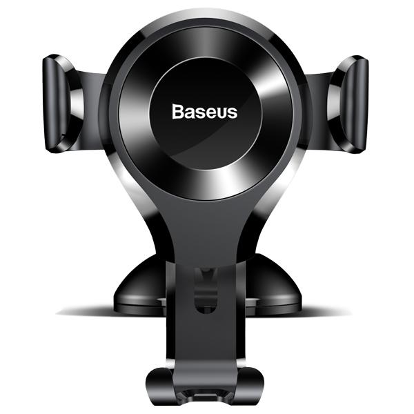 پایه موبایل مخصوص ماشین باسئوس Baseus Osculum Type Gravity Car Mount Black