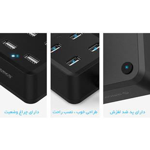 Orico DH4U-U2 Four Port USB 2.0 Hub2