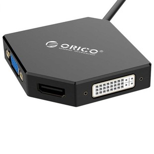 Orico DMP-HDV3S Mini DisplayPort To VGA,HDMI,DVI Adapter5
