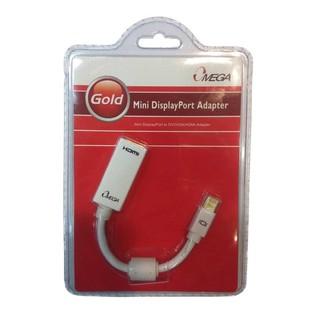 OMEGA Gold Mini Display Port to HDMI Adapter.